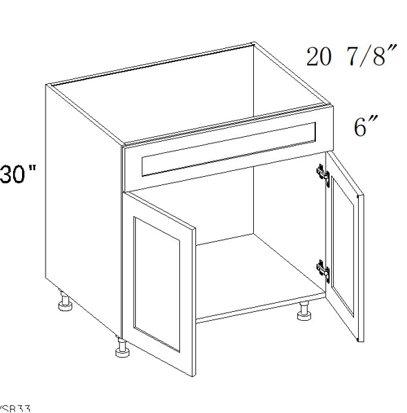"Picture of Vanity Cabinets 24""W"
